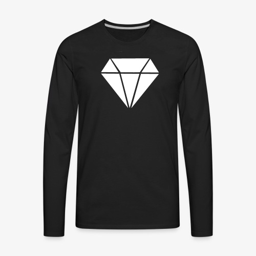 Diamond White - Men's Premium Long Sleeve T-Shirt