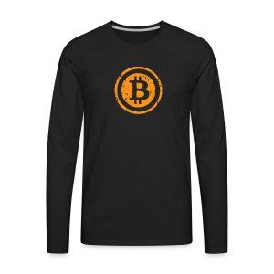 Bitcoin Worldwide Crypto Currency - Men's Premium Long Sleeve T-Shirt