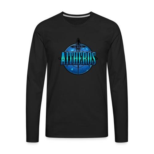 Aitheros Logo - Men's Premium Long Sleeve T-Shirt