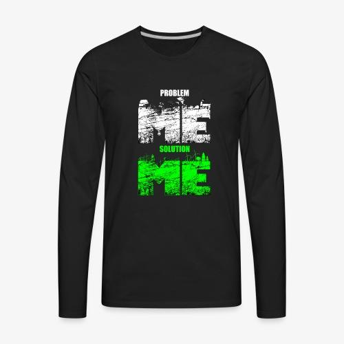 PROBLEM VS SOLUTION - CONT - Men's Premium Long Sleeve T-Shirt