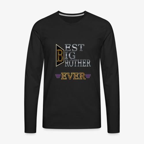 BEST Brother Shirt Big brother - Men's Premium Long Sleeve T-Shirt