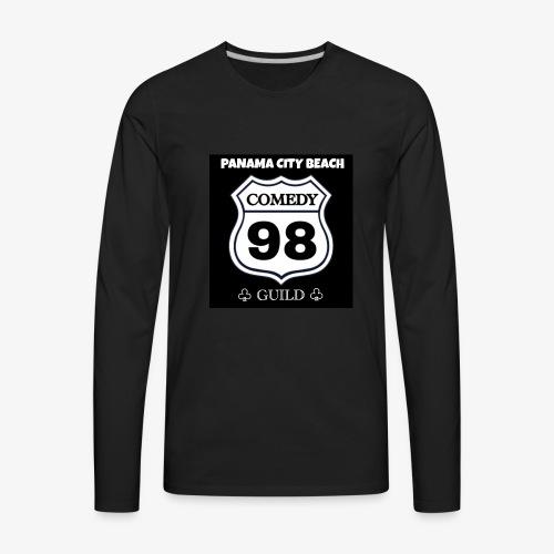 Black98comedy - Men's Premium Long Sleeve T-Shirt