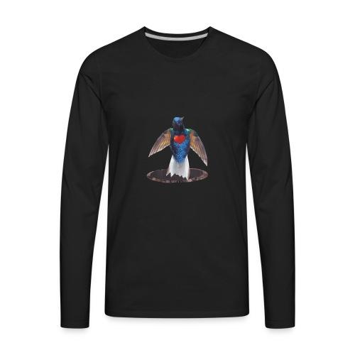 Aura Logo - Men's Premium Long Sleeve T-Shirt
