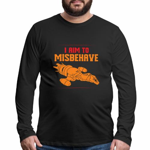 Mission to Misbehave Firefly Spaceship Amazing - Men's Premium Long Sleeve T-Shirt