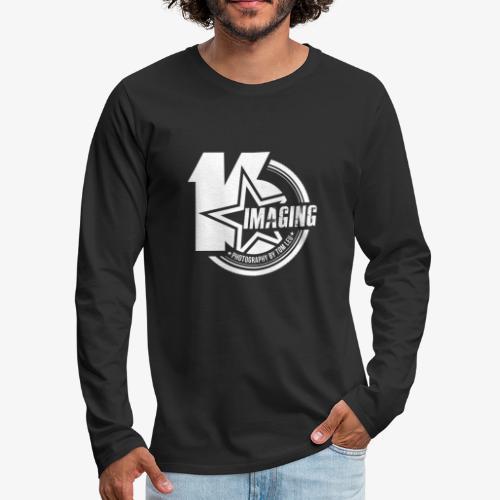 16 Badge White - Men's Premium Long Sleeve T-Shirt