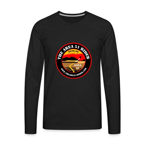 NEW Area 51 Rider Logo - Men's Premium Long Sleeve T-Shirt