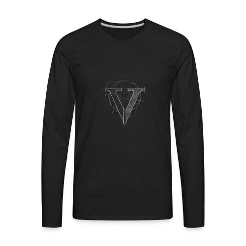 Architect V - Men's Premium Long Sleeve T-Shirt