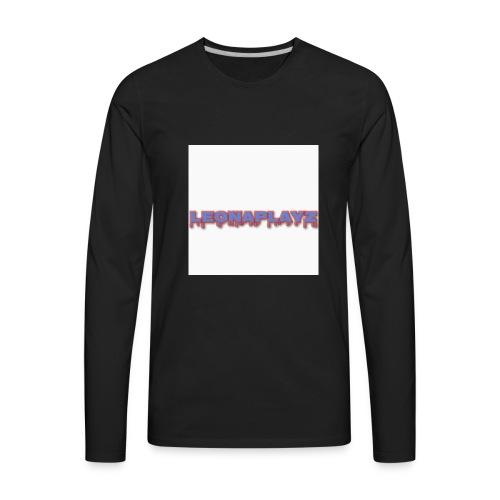 LeonaPlayz Design - Men's Premium Long Sleeve T-Shirt