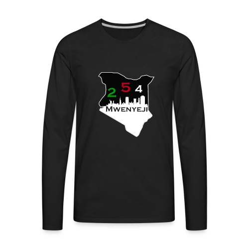 Mwenyeji Wa Kenya - Men's Premium Long Sleeve T-Shirt