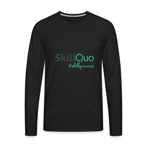 #Skillquocares - Men's Premium Long Sleeve T-Shirt
