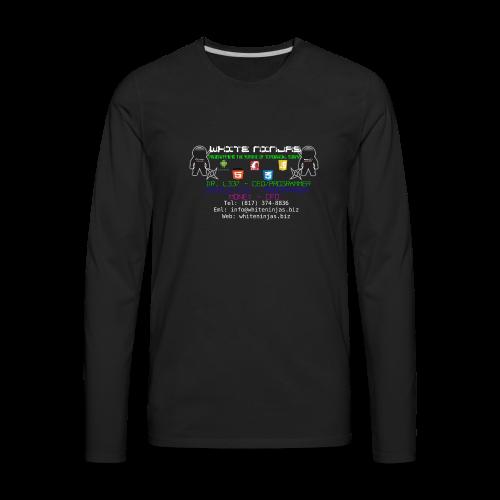 White Ninjas - Men's Premium Long Sleeve T-Shirt