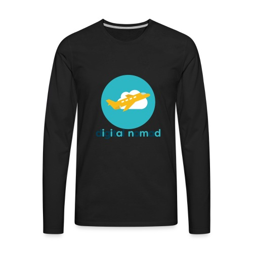 Digital nomad - Men's Premium Long Sleeve T-Shirt