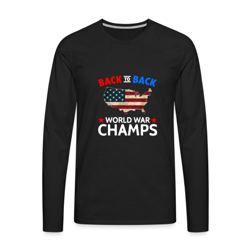 United States Patriot Champions - Men's Premium Long Sleeve T-Shirt