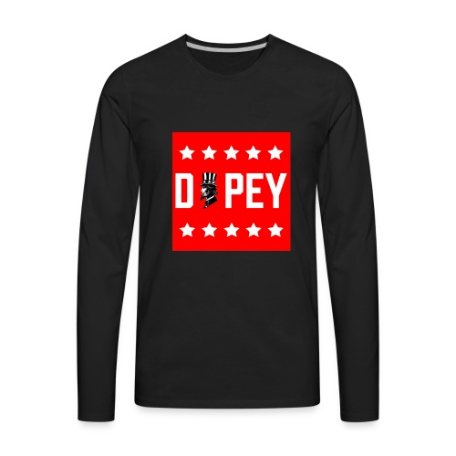 Murica Dopey - Men's Premium Long Sleeve T-Shirt