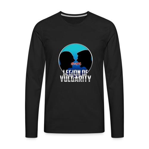 #LegionOfVulgarity Logo - Men's Premium Long Sleeve T-Shirt