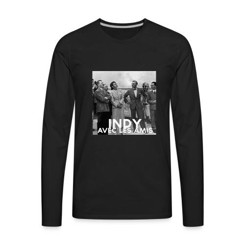Indy avec les amis - Men's Premium Long Sleeve T-Shirt