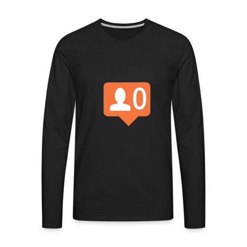 No Followers - Men's Premium Long Sleeve T-Shirt