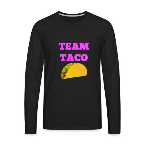 TEAMTACO - Men's Premium Long Sleeve T-Shirt