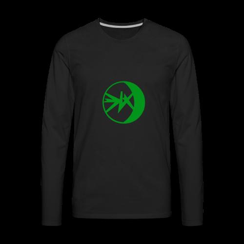 EKlips Clothing Green/Blk - Men's Premium Long Sleeve T-Shirt