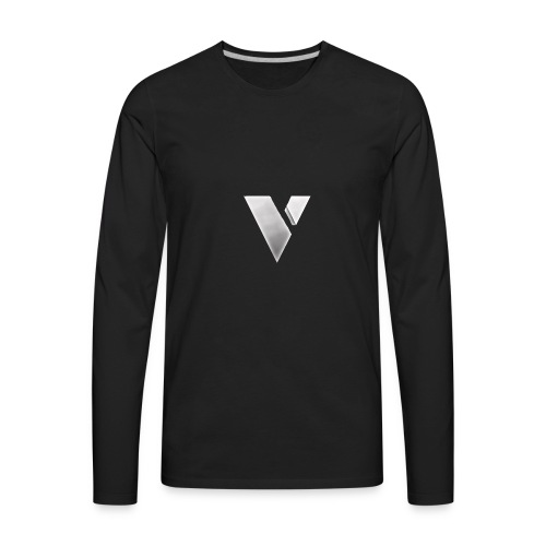 virtual merch logo - Men's Premium Long Sleeve T-Shirt