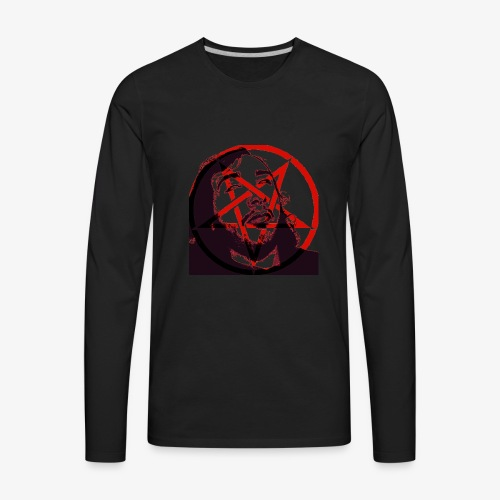 Trevor (Pentagram) - Men's Premium Long Sleeve T-Shirt