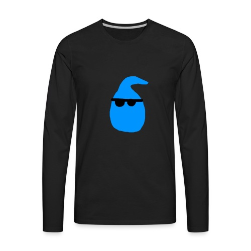 Raindrops Be Rollin' - Men's Premium Long Sleeve T-Shirt