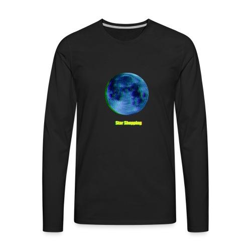 moon - Men's Premium Long Sleeve T-Shirt