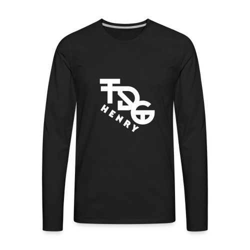 TDG Logo - Men's Premium Long Sleeve T-Shirt