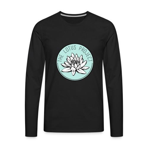 Classic Lotus Project Design - Men's Premium Long Sleeve T-Shirt