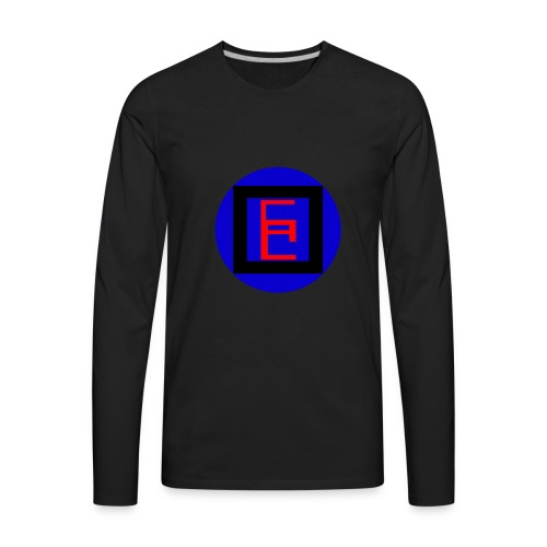 CalOFduty9000 Official Logo - Men's Premium Long Sleeve T-Shirt