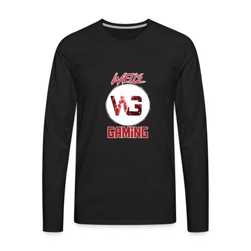 WellsGaming Fan Merchandise - Men's Premium Long Sleeve T-Shirt