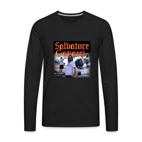 God Is a DJ - Men's Premium Long Sleeve T-Shirt