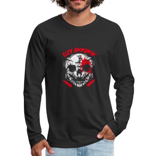 Lizy Borden Survival Skull - Men's Premium Long Sleeve T-Shirt