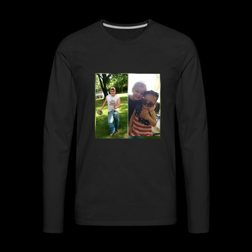 Uncle Jamie and Jo & Harleigh - Men's Premium Long Sleeve T-Shirt