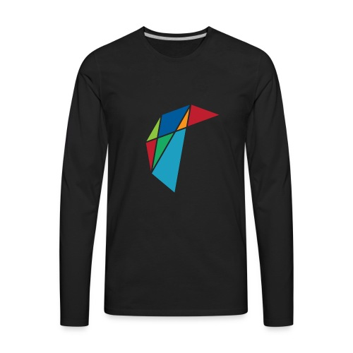 GLARE Logo - Men's Premium Long Sleeve T-Shirt