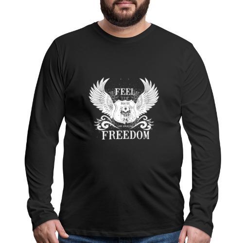 Wing Design - Men's Premium Long Sleeve T-Shirt