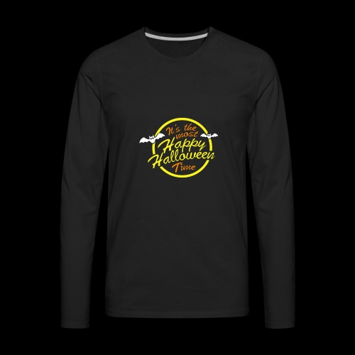 It's the most happy halloween time - Men's Premium Long Sleeve T-Shirt