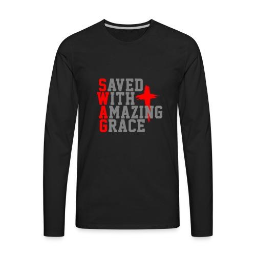 Swag For Christians - Men's Premium Long Sleeve T-Shirt