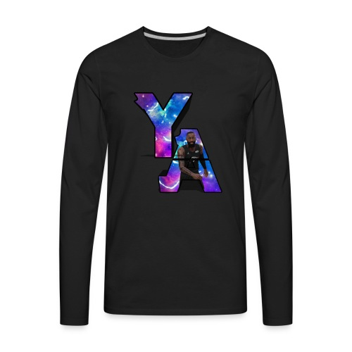 The Y/A Logo - Men's Premium Long Sleeve T-Shirt