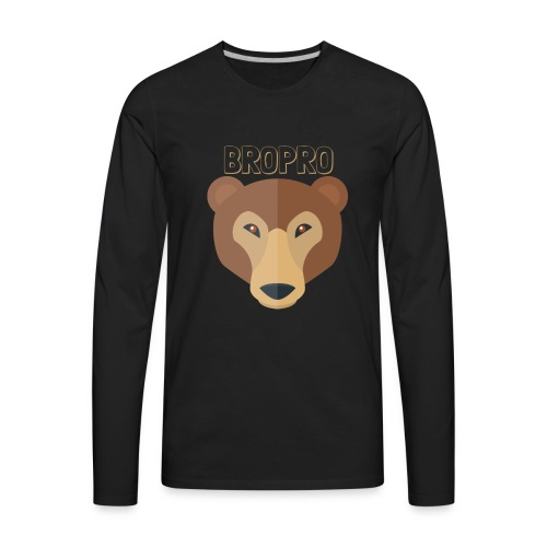 BROPRO - Men's Premium Long Sleeve T-Shirt