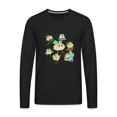 Spudy collection - Men's Premium Long Sleeve T-Shirt