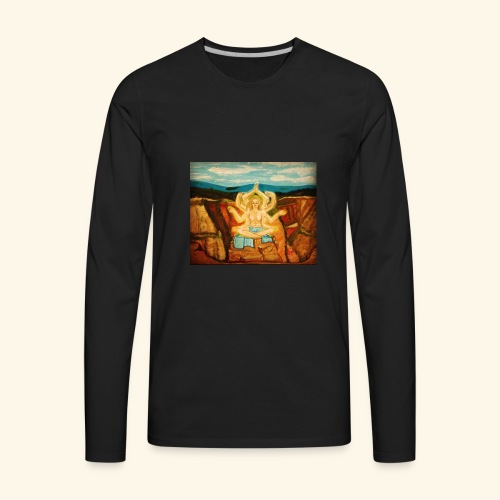 Higher Meditation - Men's Premium Long Sleeve T-Shirt