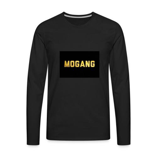 YT/Mr.motube MOGANG - Men's Premium Long Sleeve T-Shirt