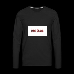 Dark Shade White - Men's Premium Long Sleeve T-Shirt