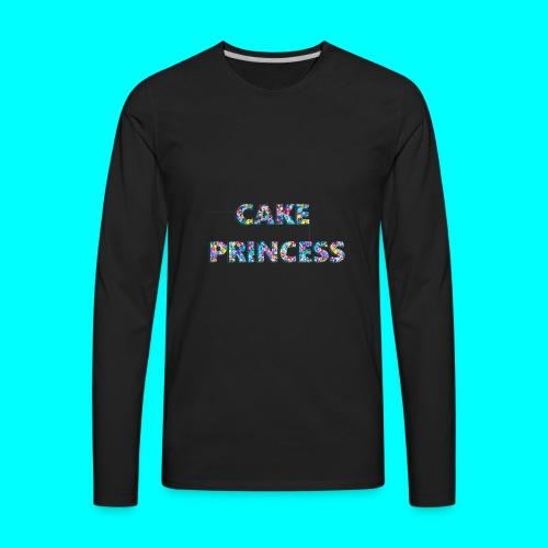 cake princess - Men's Premium Long Sleeve T-Shirt