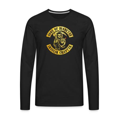 Sons Of Diabetes - Men's Premium Long Sleeve T-Shirt