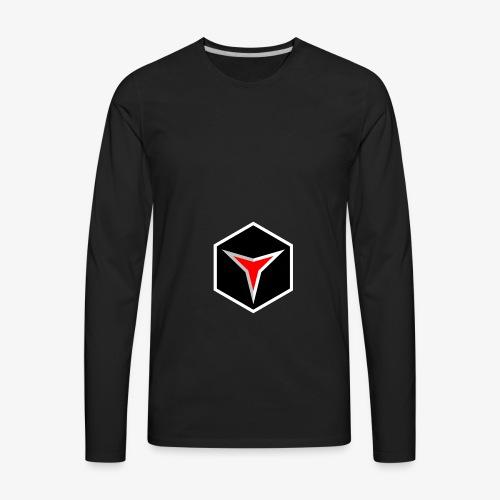 Broken Polygon - Men's Premium Long Sleeve T-Shirt