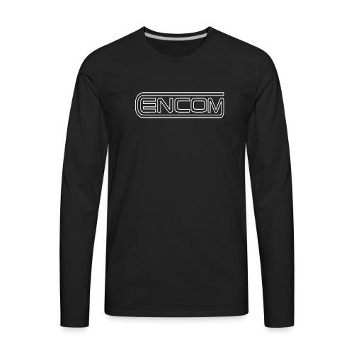 Encom logo - Men's Premium Long Sleeve T-Shirt