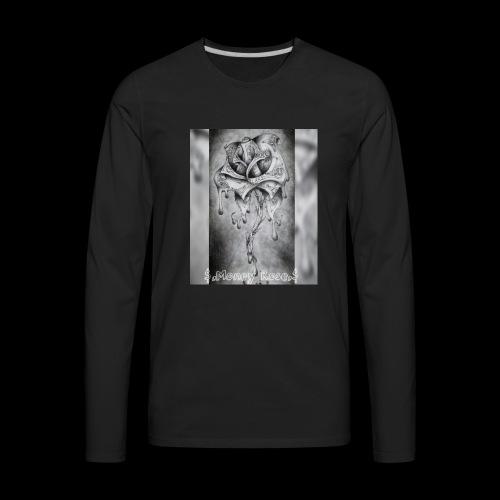 money rose - Men's Premium Long Sleeve T-Shirt