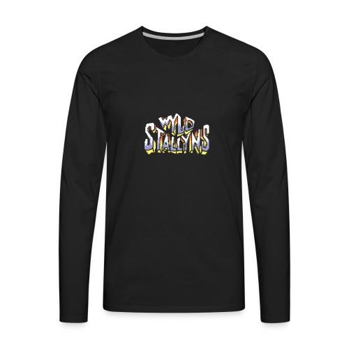 Stallyns logo - Men's Premium Long Sleeve T-Shirt